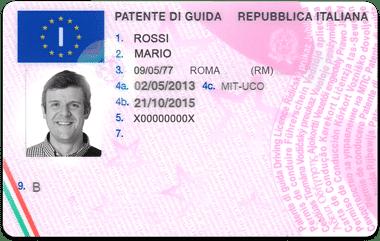 Patente di guida online, Patente di guida in vendita in italia